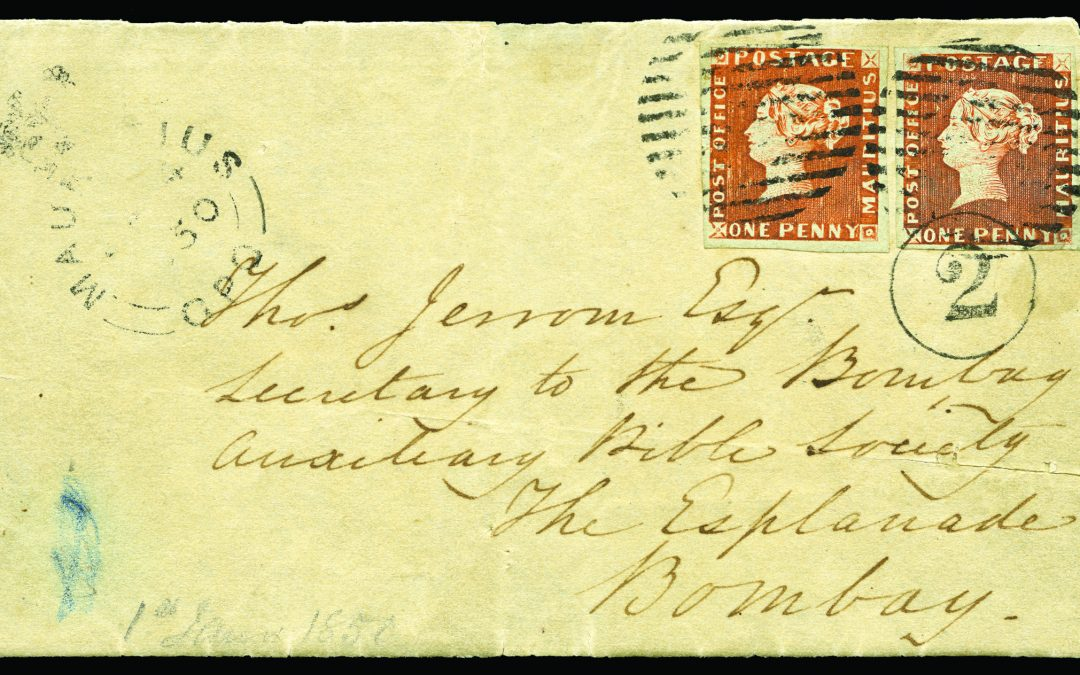 """The """"Bombay"""" Cover – an Aristocrat of Philately"""
