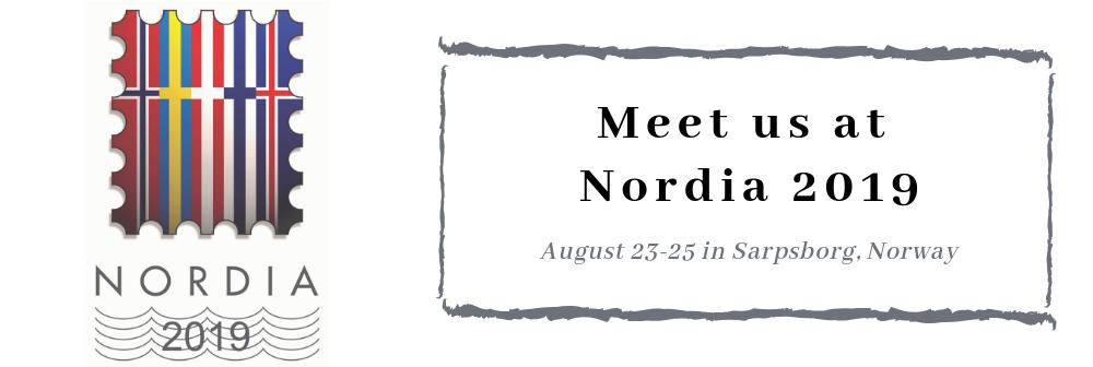 Nordia 2019 stamp exhibition
