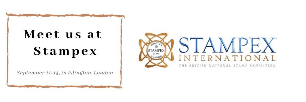 Meet us at Stampex in London