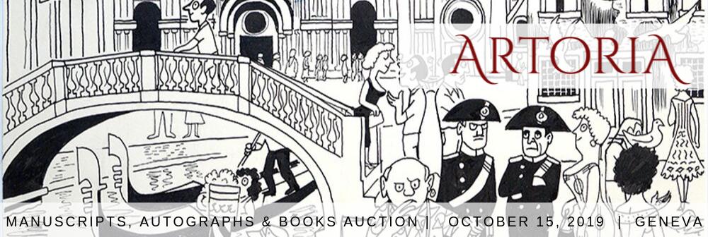 Autographs, Manuscripts & Rare Books Auction