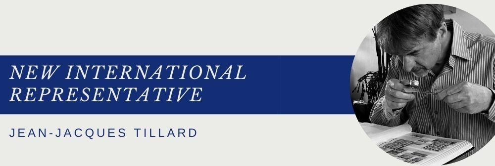 Jean-Jacques TILLARD joins our team as international representative