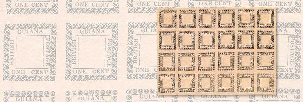 Best Kept Philatelic Secret – British Guiana 1862 Type-Set Provisionals